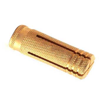 knurling anchors brass
